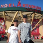 Four Ballparks Recap Part III:  Angel Stadium of Anaheim. Calling all Towels