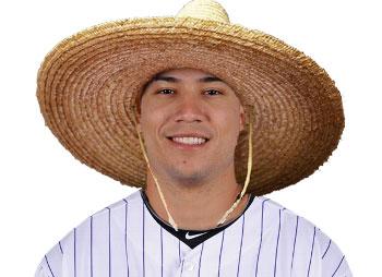 Golden Sombrero: <b>Carlos Gonzalez</b> | The Golden Sombrero Baseball Blog | MLB, ... - carlosgonzalezgoldensombrero